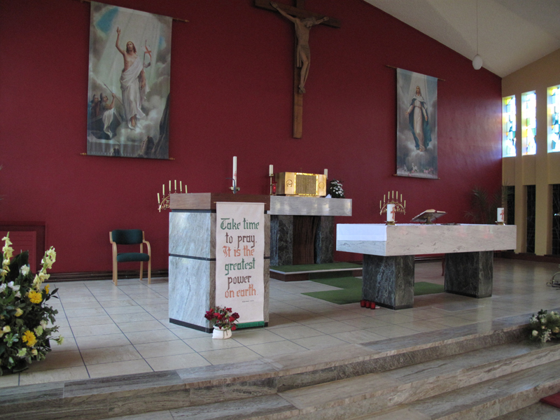 Altar in St. Michael's Church, Rathmolyon
