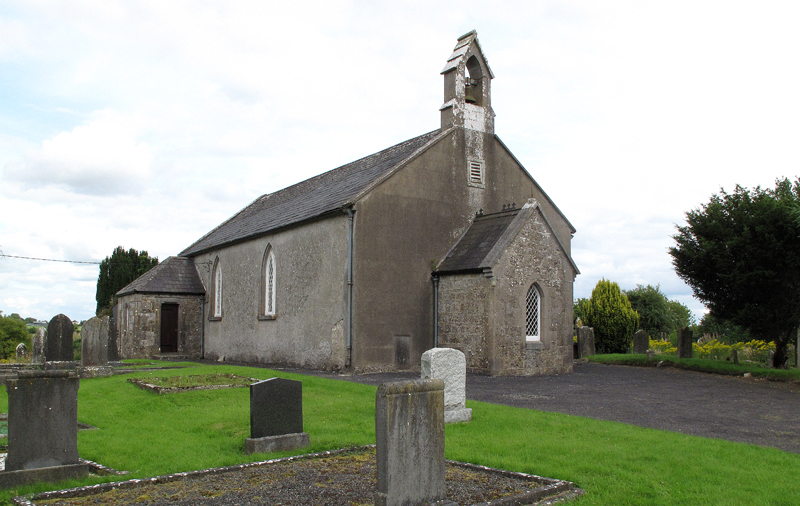 Rathcore Church of Ireland, Church and Graveyard. Catholics from parish were buried here until early 1900's