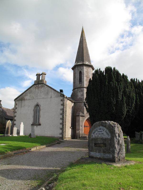 Church of Ireland Rathmolyon. Catholichs from Parish were buried in Graveyard until early 1900's
